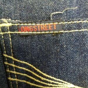 Vintage Jeans - Vintage Longstreet High Waisted Dark Wash Jeans 16